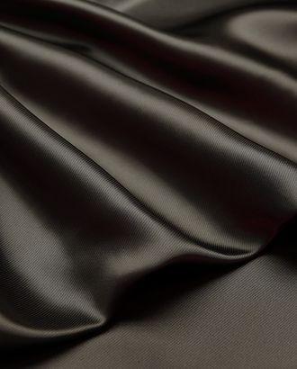 Прекрасная подкладочная ткань в диагональную полоску серого цвета (168 г/м2) арт. ГТ-3213-1-ГТ0047950