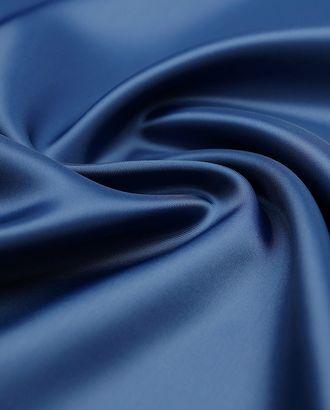 Прекрасная подкладочная ткань синего цвета (80 г/м2) арт. ГТ-3214-1-ГТ0047951