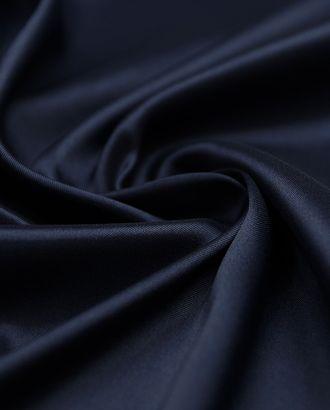 Однотонная подкладочная ткань глубового синего оттенка  (80 гр/м2) арт. ГТ-3256-1-ГТ0047994