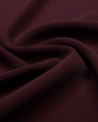 """Ткань плательная """"Кади"""" темно-вишневого цвета  (240 гр/м2) арт. ГТ-3277-1-ГТ0048022"""