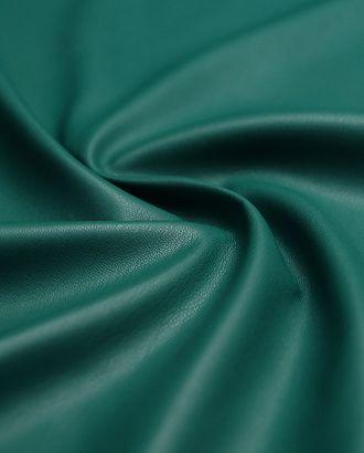 Двухсторонняя экокожа темно-бирюзового цвета  (323 гр/м2) арт. ГТ-3290-1-ГТ0048037