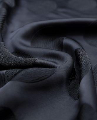 Изысканный жаккард с текстурными кусками, цвет темно-серый металлик  (181 гр/м2) арт. ГТ-3298-1-ГТ0048045