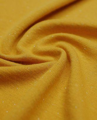 Двухсторонний трикотаж с люрексом, цвет золотистый (215 гр/м2) арт. ГТ-3312-1-ГТ0048060