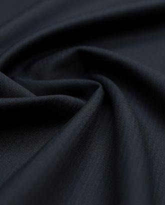 Классическая костюмная ткань черного цвета в елочку (170 гр/м2) арт. ГТ-3408-1-ГТ0048106
