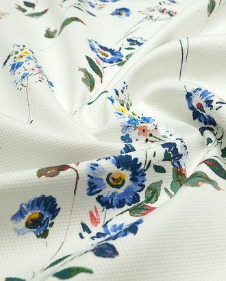 Хлопок Пике с принтом мильфлер луговые цветы 140см арт. ГТ-3947-1-ГТ0000637