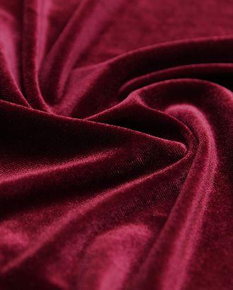 Бархат вишневого цвета арт. ГТ-4160-1-ГТ0000900