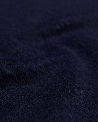 Ткань пальтовая шерстяная с ворсом цвета синего клематиса арт. ГТ-2630-1-ГТ0047410