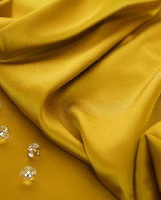 Шелк блузочный однотонный золотого цвета арт. ГТ-2539-1-ГТ0047312