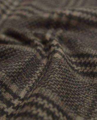 Ткань пальтовая шерстяная двухсторонняя, цвет кофейно-бежевый арт. ГТ-2668-1-ГТ0047449