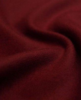 Шерстяная двухсторонняя пальтовая ткань цвета рубинового вина арт. ГТ-2646-1-ГТ0047427