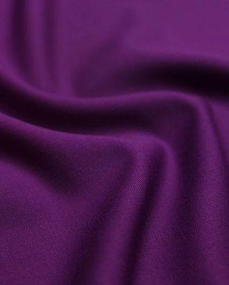 Ткань костюмная, цвет насыщенный фиолетовый цв.81 арт. ГТ-1484-1-ГТ0044423