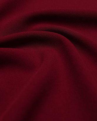 """Ткань плательная """"Кади"""", однотонная, цвет бордовый арт. ГТ-2565-1-ГТ0047341"""