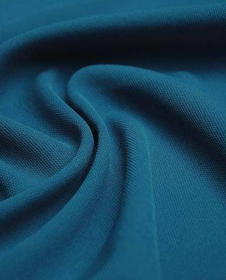 Ткань плательная, однотонная, цвет гавайского океана арт. ГТ-2586-1-ГТ0047364