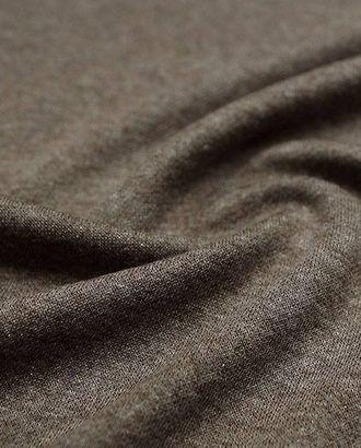 Легкий вискозный трикотаж с люрексом, меланж, цвет какао арт. ГТ-2510-1-ГТ0047249