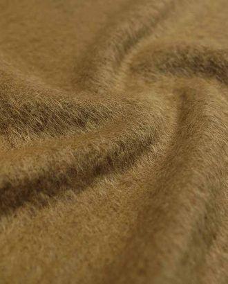 Ткань пальтовая из альпаки c ворсом золотисто-коричневого цвета арт. ГТ-2621-1-ГТ0047401