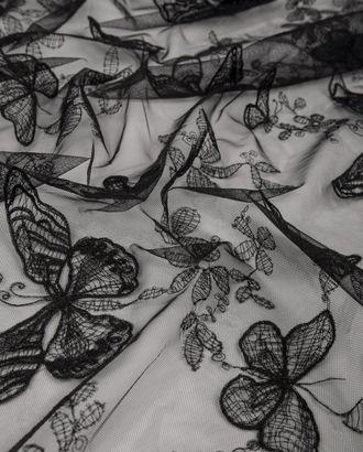 "Вышивка на сетке ""Бабочки"" арт. КПГН-71-1-20538.001"