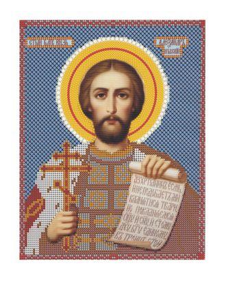"""Рис. на ткани """"Св. Александр"""" арт. ПВБ-45-1-16836"""