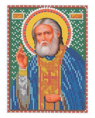 "Рис. на ткани ""Св. Серафим Саровский"" арт. ПВБ-3-1-16789"