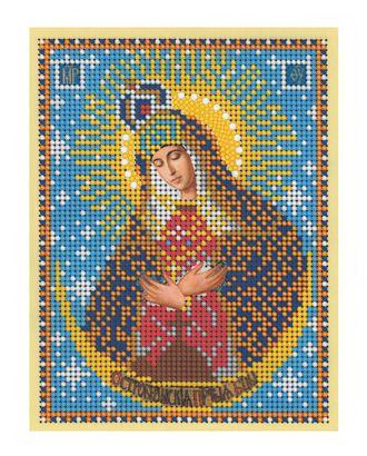"""Рис. на ткани """"Прсв.Богородица Остробрамская"""" арт. ПВБ-9-1-16805"""