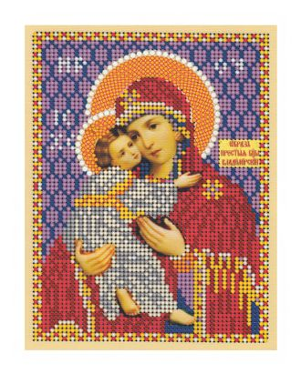 """Рис. на ткани """"Св.Богородица Владимирская"""" арт. ПВБ-16-1-16798"""