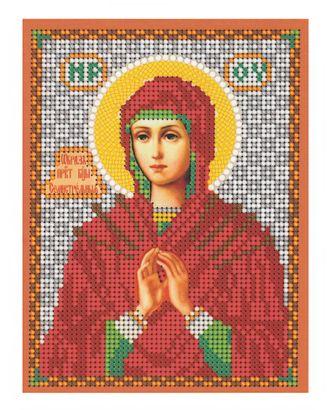 """Рис. на ткани """"Св.Богородица Семистрельная"""" арт. ПВБ-17-1-16797"""