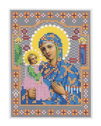 """Рис. на ткани """"Прсв.Богородица Иерусалимская"""" арт. ПВБ-23-1-16806"""