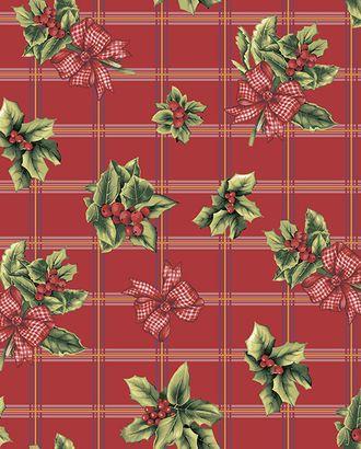 Рождественский букет Ваф. полотенце грунт. 47*70 арт. ТЕКСД-3562-1-ТЕКСД0003562