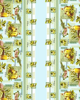 Эллада скатерть рогожка 120 см * 145 см арт. ТЕКСД-2515-1-ТЕКСД0002515