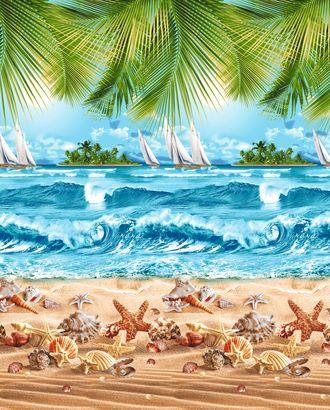 Райский уголок Полотенце ваф. 40*47 грунт арт. ТЕКСД-2208-1-ТЕКСД0002208