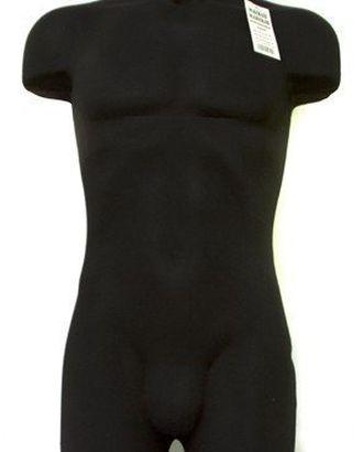 Манекен мужской р48 (96-77-95) демонстрационный мягкий цв чёрный ЕСТ арт. ВЛТКС-250-1-ВЛТКС0000250