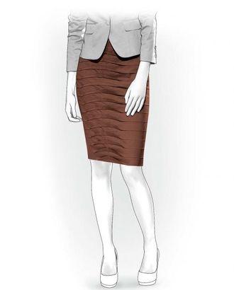 Выкройка: юбка со складками арт. ВКК-1311-1-ЛК0004012