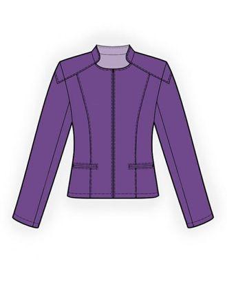 Выкройка: кожаная куртка арт. ВКК-403-1-ЛК0004101