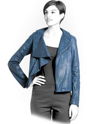Выкройка: куртка с косой застежкой арт. ВКК-1892-1-ЛК0004102