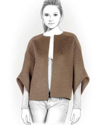 Выкройка: курточка с рукавами колокол арт. ВКК-718-1-ЛК0004114
