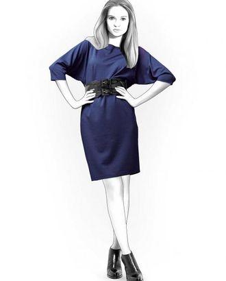 Выкройка: платье с низкой проймой арт. ВКК-1842-1-ЛК0004149