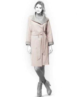 Выкройка: пальто двухстороннее арт. ВКК-2079-1-ЛК0004179