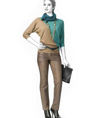 Выкройка: трикотажная блузка арт. ВКК-1658-1-ЛК0004246