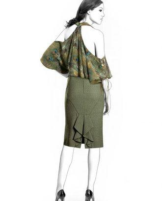 Выкройка: юбка с воланами сзади арт. ВКК-1827-1-ЛК0004255
