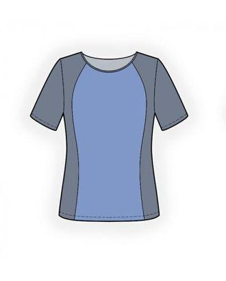 Выкройка: спортивная футболка арт. ВКК-1112-1-ЛК0004272