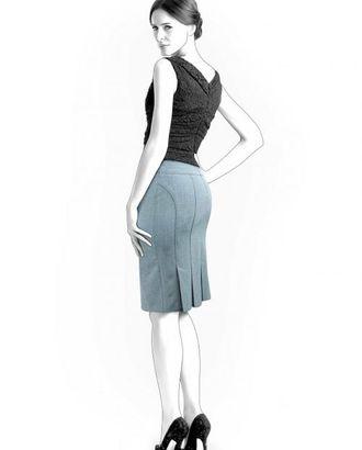 Выкройка: юбка со складками арт. ВКК-1645-1-ЛК0004285