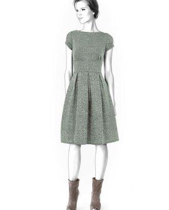 Выкройка: платье со складками арт. ВКК-195-1-ЛК0004324