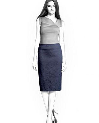 Выкройка: юбка с кокеткой арт. ВКК-1407-1-ЛК0004327
