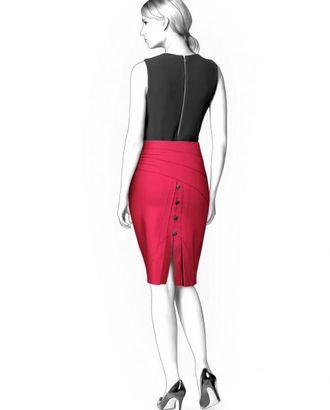 Выкройка: юбка со вставкой сзади арт. ВКК-1369-1-ЛК0004353