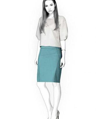 Выкройка: юбка с кокеткой арт. ВКК-1877-1-ЛК0004376