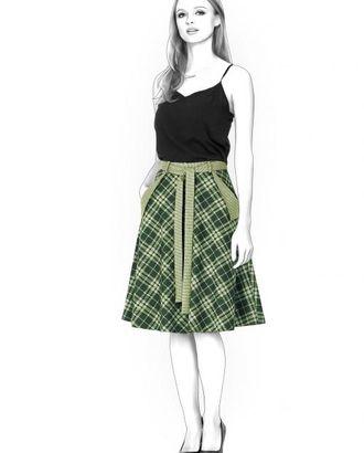 Выкройка: юбка с карманами арт. ВКК-825-1-ЛК0004381