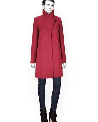 Выкройка: пальто с фигурной стойкой арт. ВКК-700-1-ЛК0004384