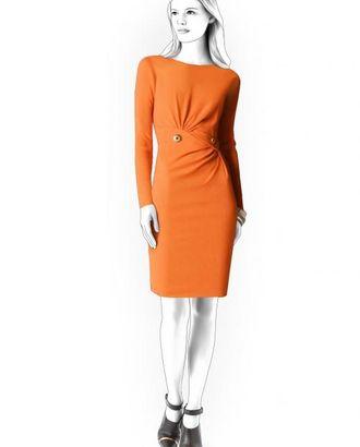 Выкройка: платье со сборкой на талии арт. ВКК-583-1-ЛК0004394