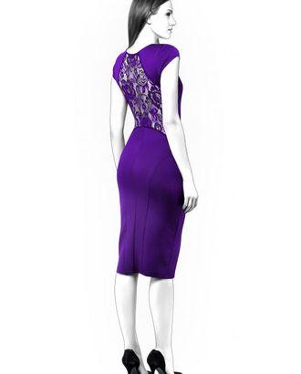 Выкройка: платье с кружевом арт. ВКК-999-1-ЛК0004397