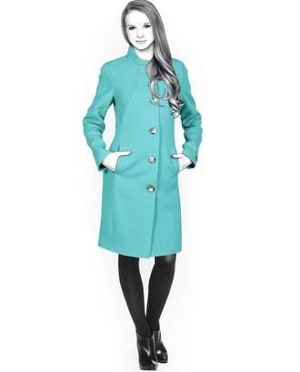 Выкройка: пальто арт. ВКК-1554-1-ЛК0004417