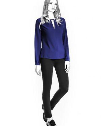 Выкройка: прямая блузка арт. ВКК-2041-1-ЛК0004420